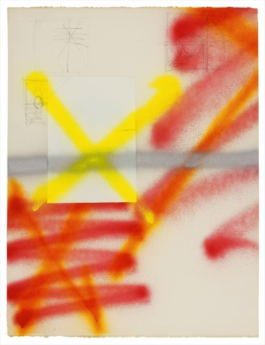 Spray Drawing #2,| 2007