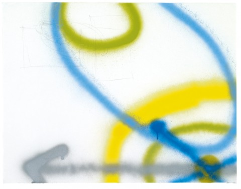 Spray drawing #21,| 2007